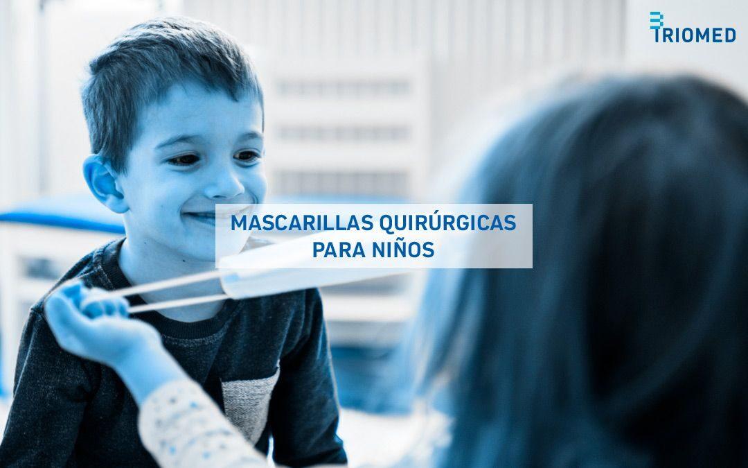 Mascarillas quirúrgicas para niños