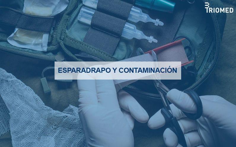 Esparadrapo y contaminación bacteriana en hospitales