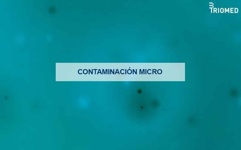 Contaminación microbiológica en espacios sanitarios