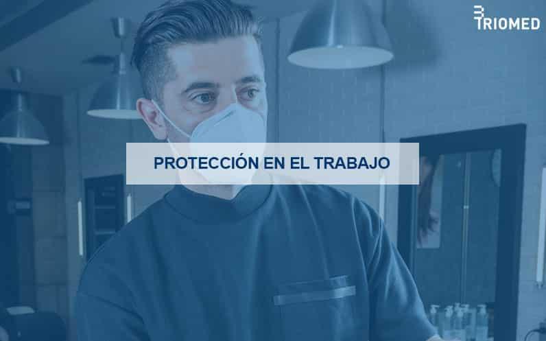 Mascarillas de protección en el trabajo